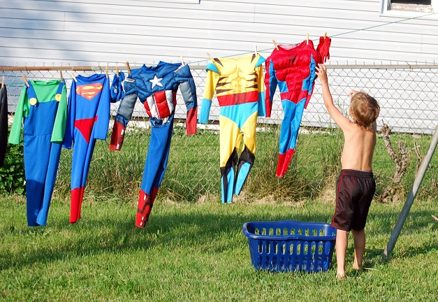 Superhero-laundry
